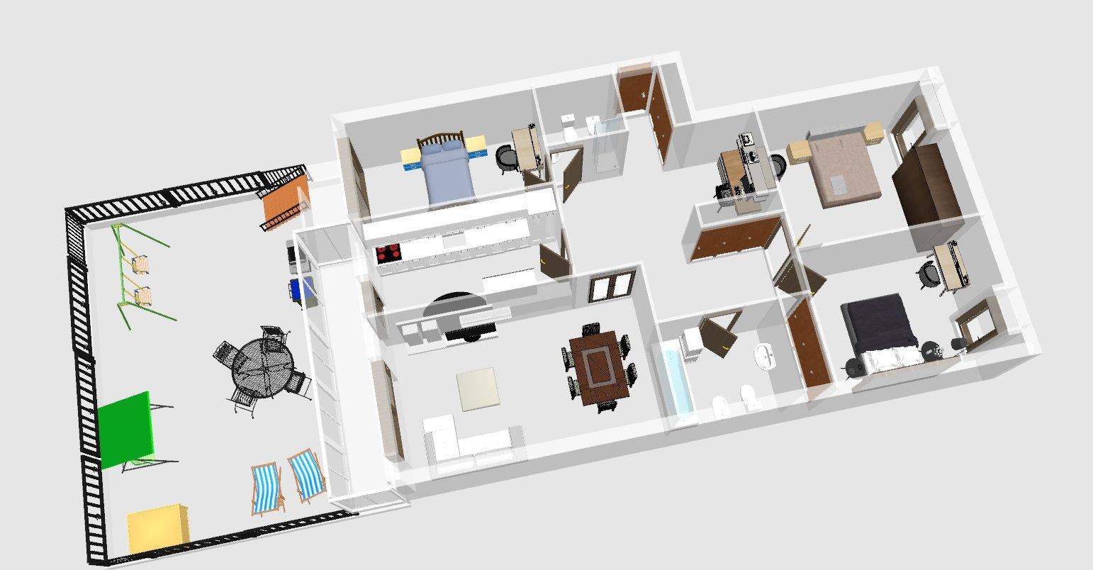 Appartement 3+1 chambres Campanhã, Porto