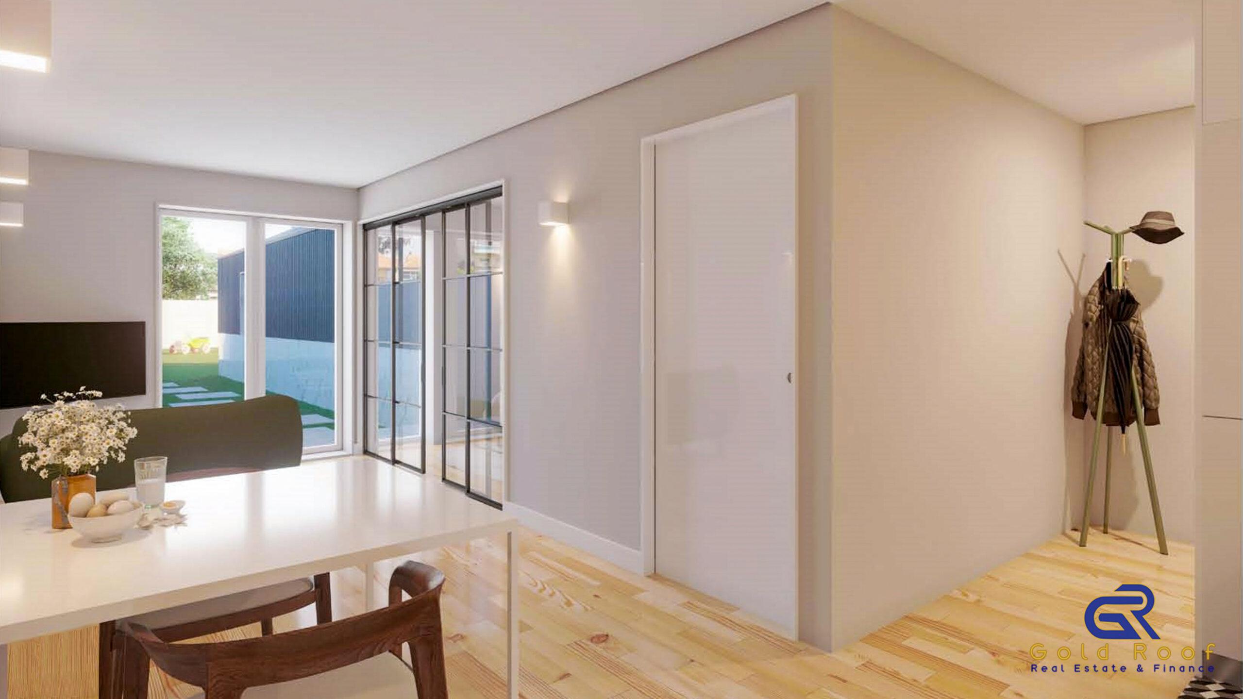 Appartement studio+1 avec terrasse et parking, près de la plage, Espinho