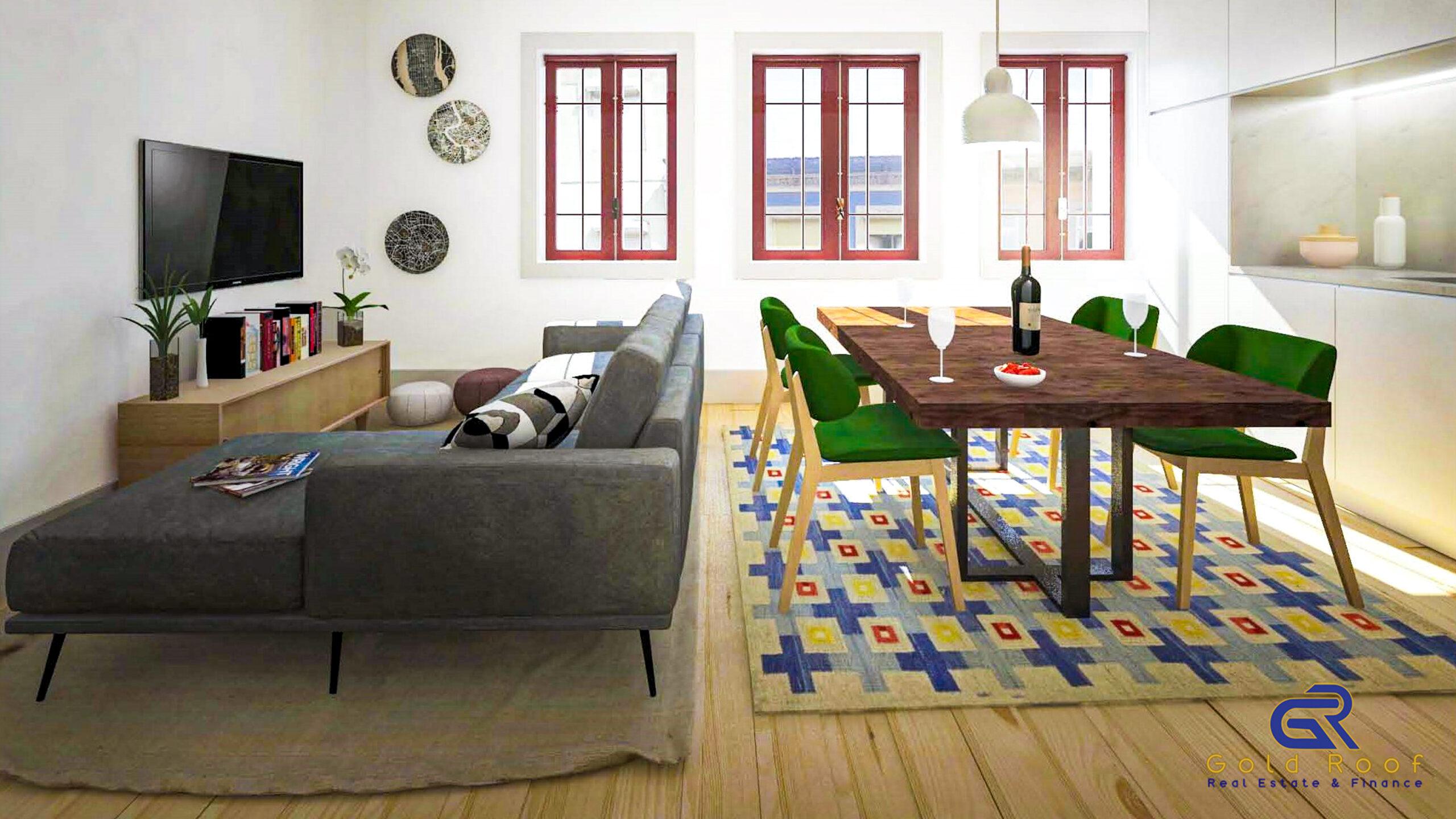 Appartement Studio+1, près du métro, Matosinhos